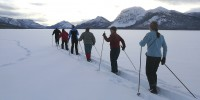 Skiing at Dalayee Lake