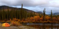 Big Salmon River in fall colors